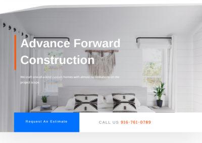 Advance Forward Construction